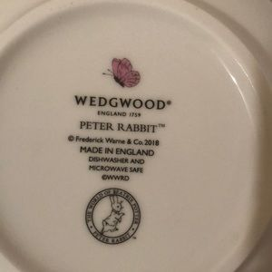 Other - Peter Rabbit nursery set by Wedgwood.